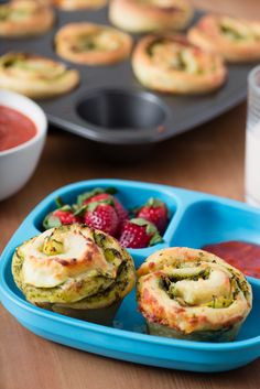 Recipe: Zucchini Pesto Pizza Rolls — Quick and Easy Vegetarian Dinners