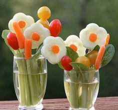 Vegetables - cucumber, tomatoes, carrots...