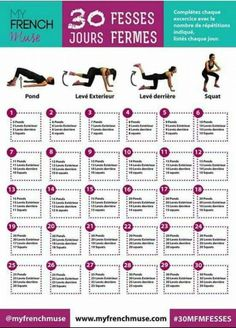 Yoga Fitness Flow - La fiche du programme FESSES FERMES : 30 jours - Get Your Sexiest Body Ever! …Without crunches, cardio, or ever setting foot in a gym! Sport Motivation, Gewichtsverlust Motivation, Yoga Fitness, Fitness Plan, Fitness Diet, Yoga Inspiration, Fitness Inspiration, Style Inspiration, Mental Training