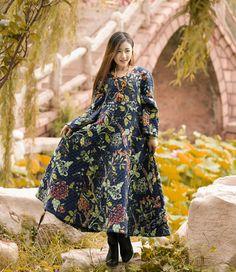 Anysize with pockets V-neck padded Winter Dress plus size