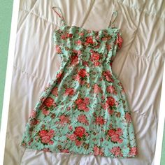 Shabby Chic Summer Dress So girly and fun! Size medium Dresses Mini