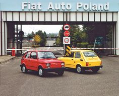 End of production Fiat 126, Happy End, Fiat Cars, Fiat Abarth, Cute Cars, Small Cars, Barn Finds, Amazing Cars, Old Cars
