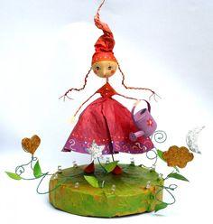 La Semeuse de Rêves - Veilleuse : Décoration pour enfants par au-petit-bazartistik
