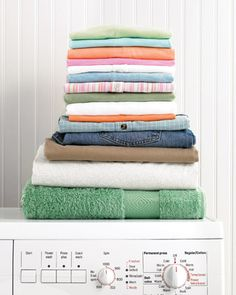 19 tips for perfect laundry every time.
