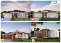 Which is your favourite facade? Vote below! #stroudhomes #feelslikehome #stroudandproud #house #design