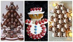 Hit letošních Vánoc: perníkový adventní kalendář - Modrý koník Advent Calendar, Gingerbread, Holiday Decor, Ginger Beard