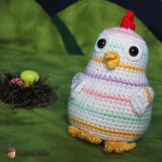 Rainbow Chicken is just your average, ordinary, everyday chicken, except that she developed a striped pastel pattern to her plumage after a rainbow fell on her one day. Can you imagine that? I want…