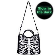 Ribbenkast Glow In The Dark tas - horror