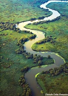 Photo of Delta Dunarii - Danube Delta aerial view Bulgaria, Visit Romania, Turism Romania, Romania Facts, Danube Delta, Romania Travel, Bucharest Romania, Danube River, Seen