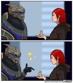 - Garrus by skyllianhamster on DeviantArt Mass Effect Ships, Mass Effect Funny, Mass Effect Garrus, Mass Effect Art, Mass Effect Universe, Fandom Games, Tomb Raider Cosplay, Commander Shepard, Comic Games
