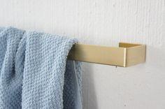 Brass Towel Holder Wide van Calvill op Etsy