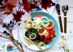 Once upon a time... Woodpecker's Rigatoncini with Parmesan fried onions #englishrecipe #children #fairytale #onceuponatime