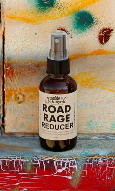 Road Rage Reducer  Relief From Rush Hour: Aromatherapy sprays to carry with you in order to create a calming environment anywhere!