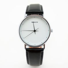 Brand Mens Fashion Dress Watch Slim Hands Casual Style Special Concise White Face Black Genuine Leather High Quality Male Clock-in Casual Watches from Watches on Aliexpress.com | Alibaba Group Cheap Watches, Casual Watches, Man Dressing Style, Quartz Watch, Fashion Accessories, Fashion Dresses, Men Casual, Mens Fashion, Alibaba Group