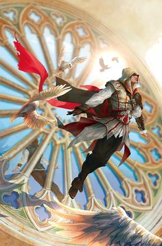 Reflections (Ezio) unused cover by sunsetagain on DeviantArt
