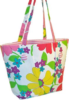 5d609c1b264d Flower Tote Bag - Tote Bags Canvas Tote Bags