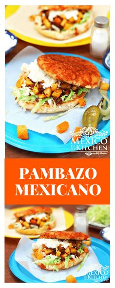 How to make Pambazo Mexicano │This particular bread, also called Pambazo Mexicano, is very similar to a Kaiser roll but dusted with flour and without the seeds. #mexicanfood #mexicancuisine #sandwich #mexicanrecipes