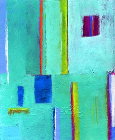 Original Abstract Acrylic Painting by AbbyCreek on Etsy, $400.00