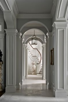 ...just love this home!  and this blog:) Lee Caroline - A World of Inspiration: Tillinghast Estate - French Style Farmhouse or French Chateau?