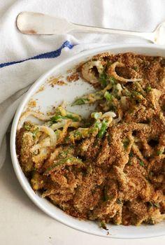 A favorite dinner recipe, green bean casserole.