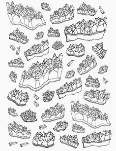 Amethyst Drawing - LINE