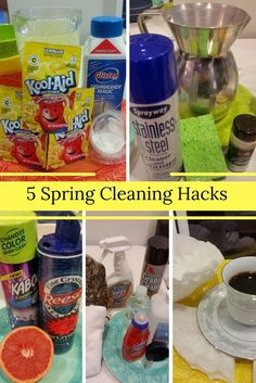 5 cleaning hacks put to the test!  Do they work or NOT???