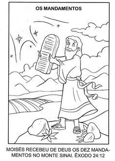 Free Moses On Coloring Pages