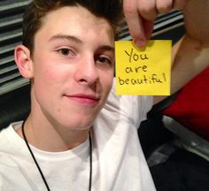 Everyone is beautiful. You don't need a boy to tell you even though this pic is