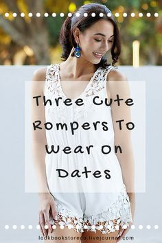 Give a break for wearing LBS or dainty blouse on date nights. Try these gorgeous romper along with styling tips. | Lookbook Store Style Tips #LBSStyleTips