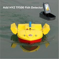 Hot Professional fishing Boat Double bucket remote control fishing bait boat Hook ship can add Fish detector Rc Remote, Remote Control Toys, Boat Brands, Boat Battery, Fishing Bait, Led Night Light, Bucket, Canning, Boats
