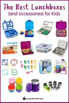 The Best Lunchboxes for Kids - looking for a new lunchbox for back to school? Here are our top-rated lunchboxes and accessories! #PowerYourLunchbox #lunchboxes