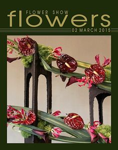02 March 2015… A Year in Flowers PLANT LIST: Anthurium, Gloriosa Lilies, Calla Lilies, Green Trick Carnations & Pandanus FROM: www.FlowerShowFlowers.com