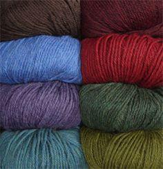 Andean Treasure Yarn from KnitPicks - $5.49 / 50g (sport weight)