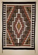 "Chinle Navajo Rug  50"" x 72""  Circa 1940s"