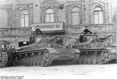 Russland, Panzer IV Tank 1942.