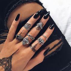 Black Henna Style 1