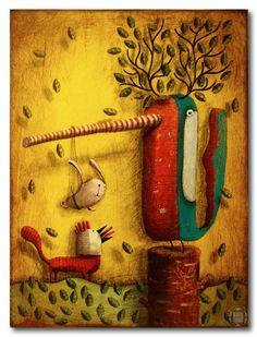 teatr leśny  http://pantonedesign.blogspot.com/