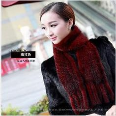 [ 33% OFF ] 7 Color Girls Mink Knitted Scarf New 2016 Children Mink Knit Scarves Real Fur Shawl Lady Casual Solid Fur Accessories Hats Caps