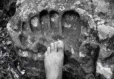 Giant Footprints found around the World
