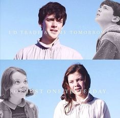 Edmund and Lucy. Voyage of the Dawn Treader.