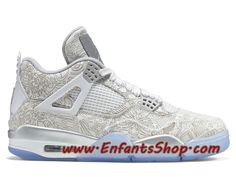 Air Jordan 4 IV Retro Chaussures Jordan Basket Pas Cher Pour Homme Laser 705333-105 Jordan 4, Baskets Jordan, Basket Pas Cher, Air Max Sneakers, Sneakers Nike, 30th Anniversary, Nike Huarache, Nike Air Max, Air Jordans