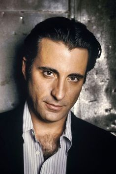 Andy Garcia. The sensitive latino. Loved him in When A Man Loves a Woman with Meg Ryan as an alcoholic wife.