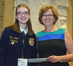 Ag Day Essay Contest Winner! What a talented young lady! Be sure to listen to her speech.