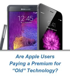 #Apple Consumers Are Paying a Premium on Old Technology  #iPhone