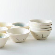 set of 4 condiment bowls
