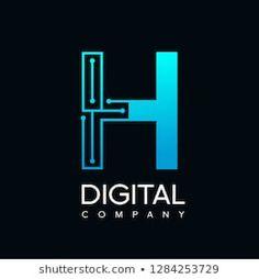 Leadership Logo H Images, Stock Photos & Vectors Vector Logo Design, Branding Design, Coding Logo, Electricity Logo, Dm Logo, Free Business Logo, English Logo, Art Graphique, Letter Logo