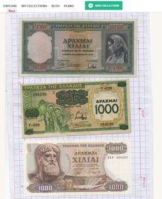 Greek #Banknotes at http://kollectbox.com  Join http://Kollectbox.com  - The #Marketplace for #Collectors