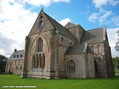 Pluscarden Abtei und die weißen Mönche (GB)