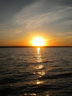 any #puremichigan sunset is beautiful. Hubbard Lake