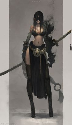 Design character female fantasy 16 ideas for 2019 Female Character Design, Character Concept, Character Art, Concept Art, Character Reference, Fantasy Women, Fantasy Girl, Dark Fantasy, Anime Fantasy
